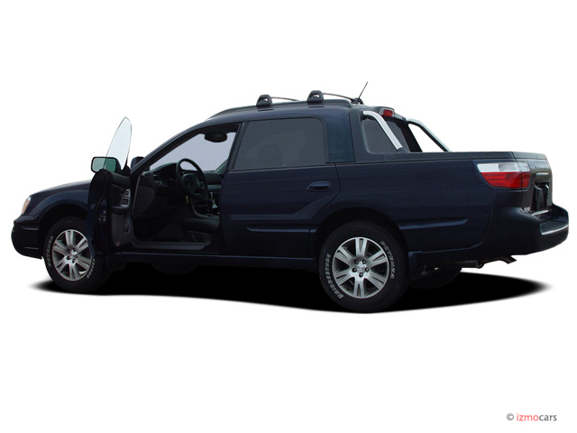 2006 Subaru Baja 4-door Sport Manual Open Doors