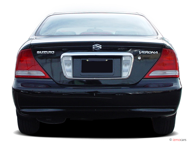 Image 2006 suzuki verona 4 door sedan rear exterior view size 640 x