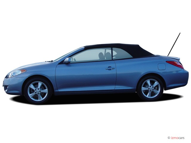 image 2006 toyota camry solara 2 door convertible sle v6 auto natl side exterior view size. Black Bedroom Furniture Sets. Home Design Ideas