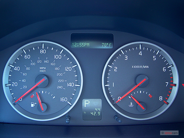 Image: 2006 Volvo S40 2.4L Auto Instrument Cluster, size: 640 x 480, type: gif, posted on ...