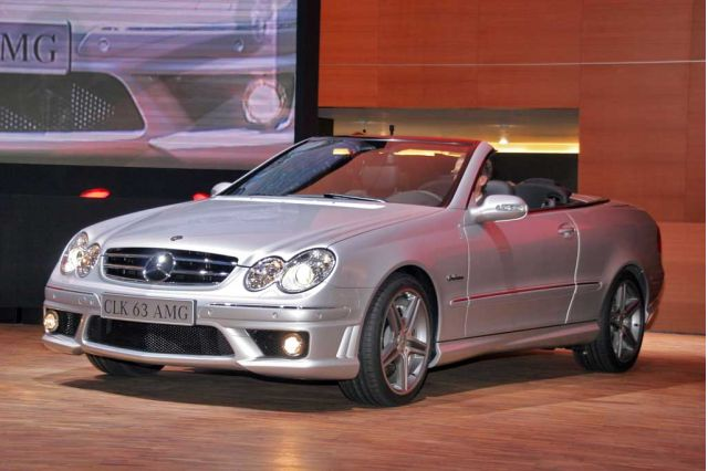 2006 Mercedes-Benz CLK63 AMG, Geneva Motor Show