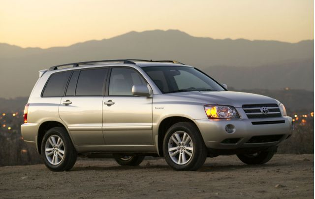 2006 2007 lexus rx 400h toyota highlander hybrids recall. Black Bedroom Furniture Sets. Home Design Ideas