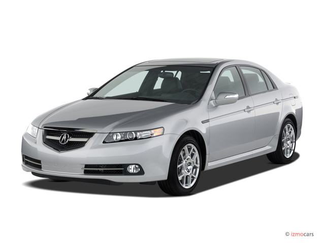 2007 Acura TL 4-door Sedan MT Type-S Angular Front Exterior View