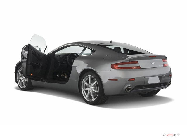 2007 Aston Martin Vantage 2-door Coupe Manual Open Doors
