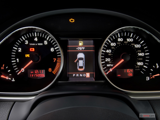 Tt Auto Sales >> Image: 2007 Audi Q7 quattro 4-door 3.6L Premium Instrument ...