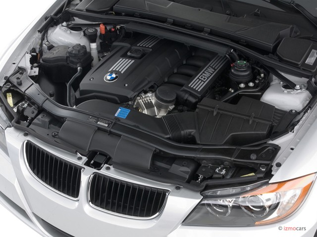 Engine - 2007 BMW 3-Series 4-door Sport Wagon 328i RWD