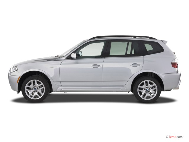 Image 2007 Bmw X3 Series Awd 4 Door 3 0si Side Exterior