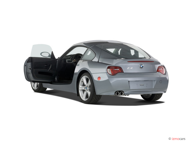 Image 2007 Bmw Z4 Series 2 Door Coupe 3 0si Open Doors