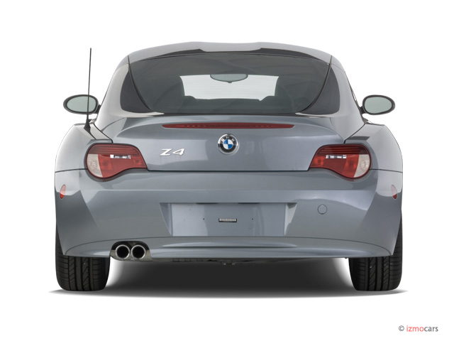 Image 2007 Bmw Z4 Series 2 Door Coupe 3 0si Rear Exterior