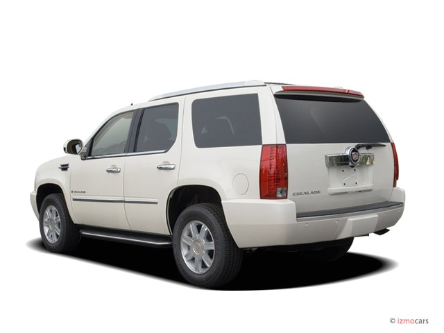 2007 Cadillac Escalade AWD 4-door Angular Rear Exterior View
