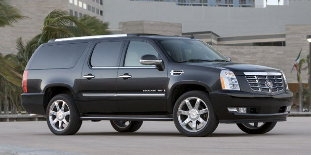 The 2007 Escalade ESV had the highest theft-claim frequency of any vehicle sold in the U.S.