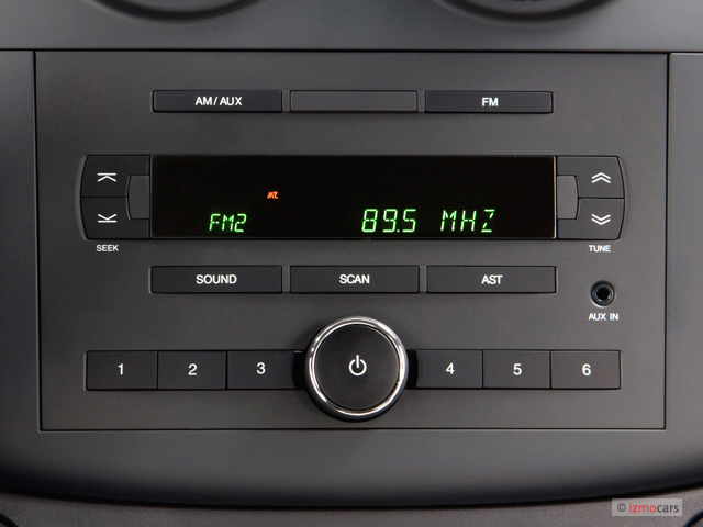 Image 2007 Chevrolet Aveo 4 Door Sedan Ls Audio System