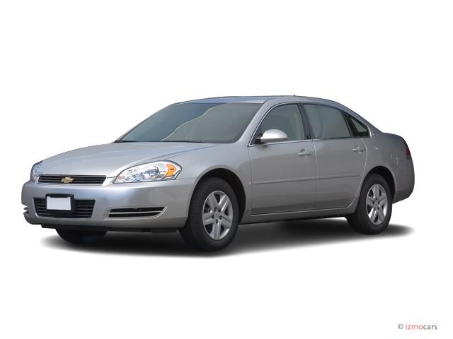 2007 Chevrolet Impala 4-door Sedan LS Angular Front Exterior View