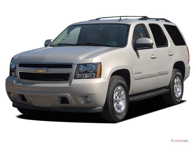 2007 Chevrolet Tahoe 2WD 4-door 1500 LT Angular Front Exterior View