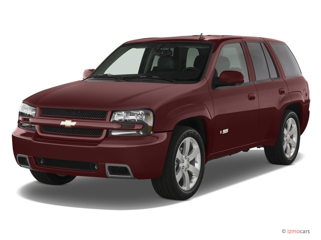 2007 Chevrolet TrailBlazer 2WD 4-door SS Angular Front Exterior View