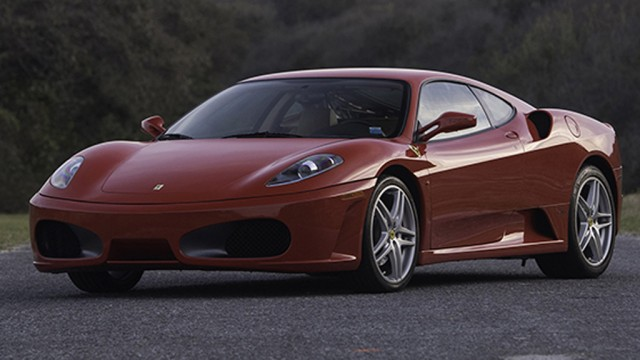 2007 Ferrari F430 formerly owned by Donald Trump - Image via Auctions America