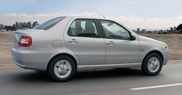2007 Fiat Siena Tetrafuel