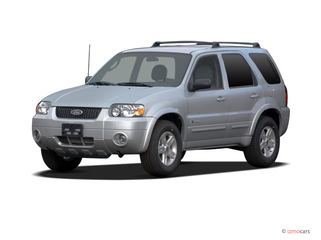 2007 Ford Escape 2WD 4-door I4 CVT Hybrid Angular Front Exterior View