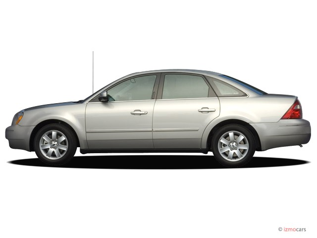 2007 Ford Five Hundred 4-door Sedan SEL FWD Side Exterior View