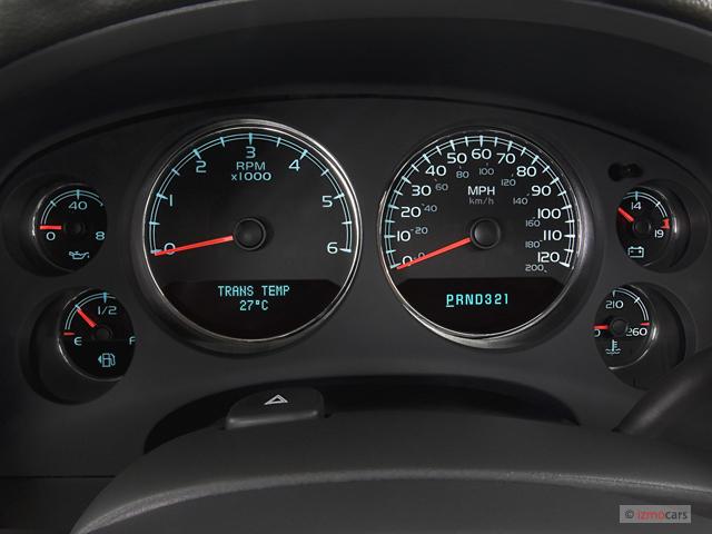 2011 Gmc Terrain Recalls >> Image: 2007 GMC Yukon 2WD 4-door 1500 SLT Instrument
