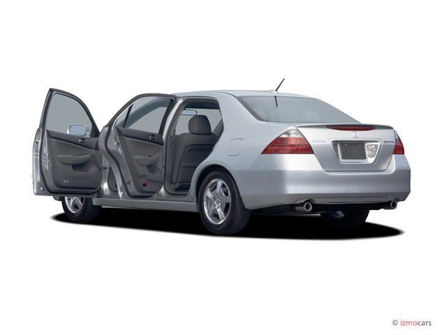 2007 Honda Accord Hybrid 4-door Sedan Open Doors