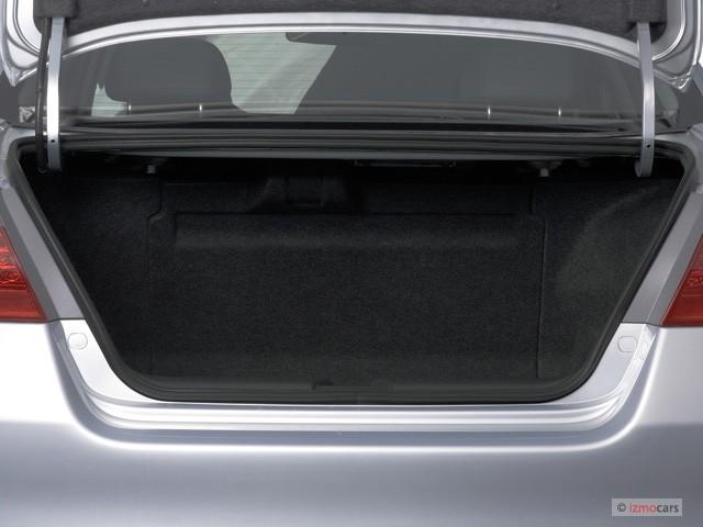 Image 2007 Honda Accord Hybrid 4 Door Sedan Trunk Size