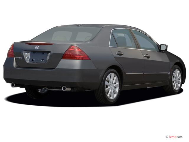 Image: 2007 Honda Accord Sedan 4-door V6 AT EXL w/Navi ...