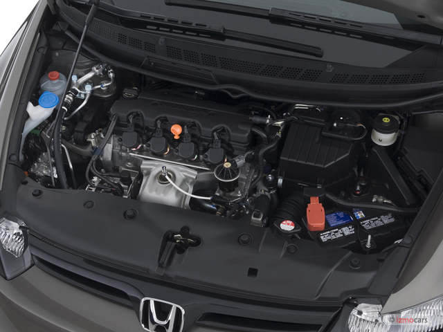 Image: 2007 Honda Civic Coupe 2-door AT LX Engine, size ...