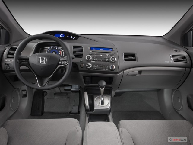 Image: 2007 Honda Civic Coupe 2-door AT LX Dashboard, size ...