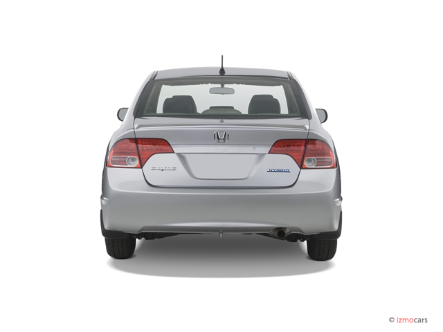 image 2007 honda civic hybrid 4 door sedan rear exterior view size 640 x 480 type gif. Black Bedroom Furniture Sets. Home Design Ideas