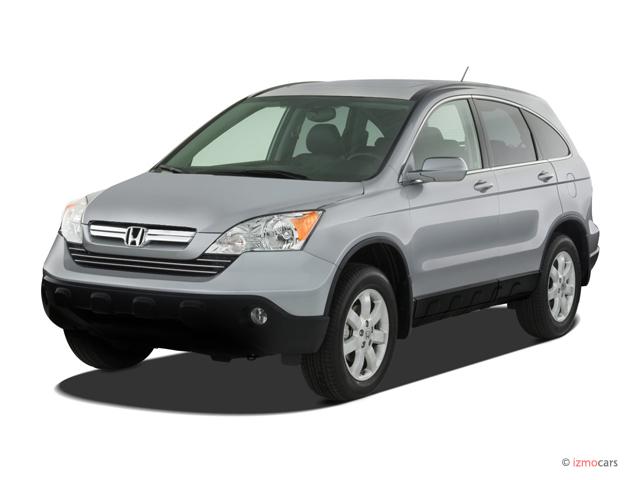 2007 Honda CR-V 2WD 5dr EX-L Angular Front Exterior View