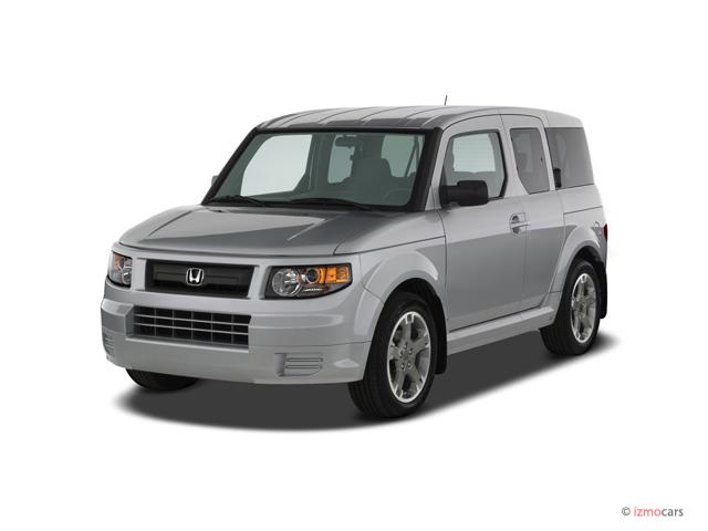 2007 Honda Element 2WD 4-door AT SC Angular Front Exterior View