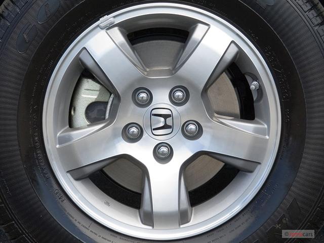 Image 2007 honda pilot 4wd 4 door exl w navi wheel cap for 2007 honda fit tire size