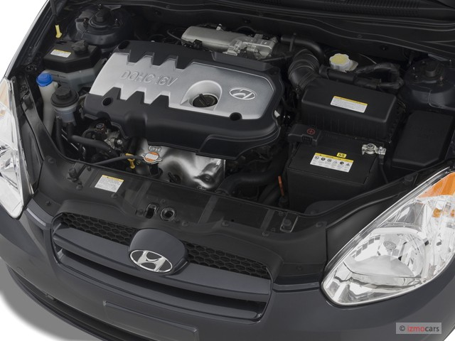 Used Hyundai Accent >> Image: 2007 Hyundai Accent 3dr HB Auto SE Engine, size ...