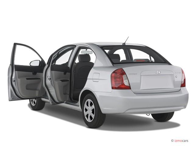 Image 2007 Hyundai Accent 4 Door Sedan Auto Gls Open