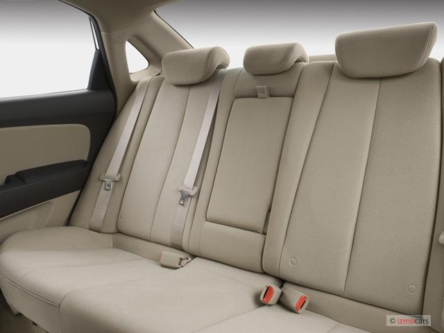 Rear Seats - 2007 Hyundai Elantra 4-door Sedan Auto SE w/XM