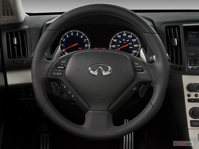 Infiniti G Sedan Door Auto Sport Rwd Steering Wheel M