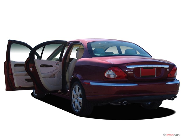 2007 Jaguar X-TYPE 4-door Sedan Open Doors