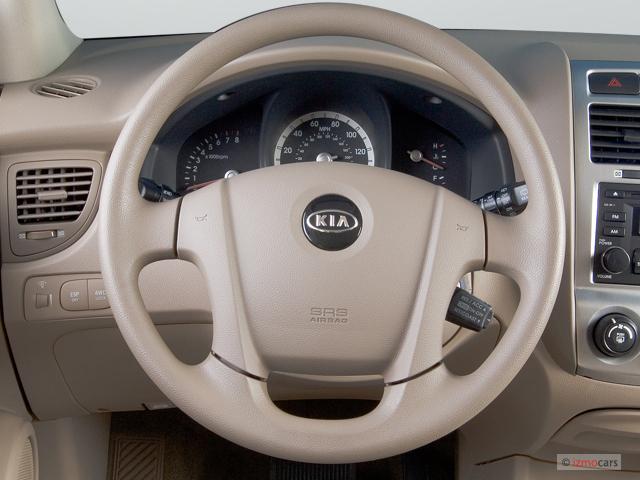 Kia Sportage Gas Mileage >> Image: 2007 Kia Sportage 4WD 4-door V6 Auto LX Steering