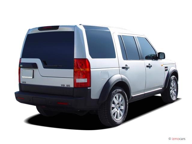 image 2007 land rover lr3 4wd 4 door v8 se angular rear. Black Bedroom Furniture Sets. Home Design Ideas