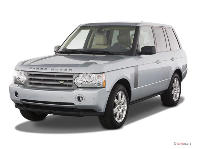 2007 Land Rover Range Rover 4WD 4-door HSE Angular Front Exterior View