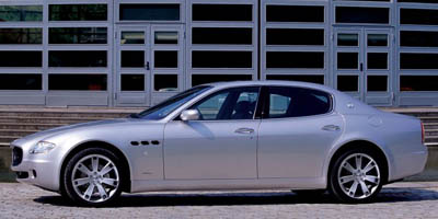 2007 maserati quattroporte review ratings specs prices and photos the car connection. Black Bedroom Furniture Sets. Home Design Ideas
