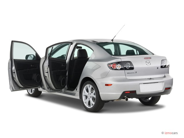 Image 2007 Mazda Mazda3 4 Door Sedan Auto S Touring Open Doors Size 640 X 480 Type Gif