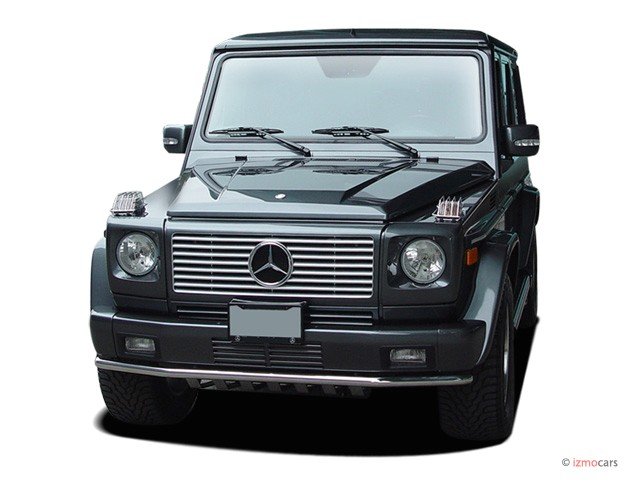 2007 Mercedes-Benz G Class 4WD 4-door 5.0L Angular Front Exterior View