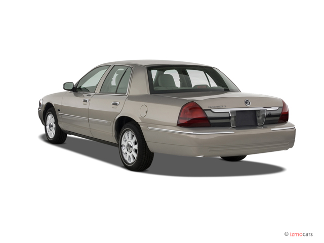 image 2007 mercury grand marquis 4 door sedan ls angular. Black Bedroom Furniture Sets. Home Design Ideas