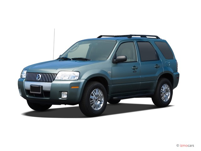 2007 Mercury Mariner FWD 4-door Premier Angular Front Exterior View