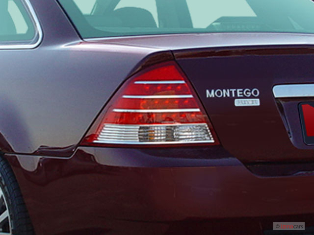 Mercury Montego Door Sedan Premier Wd Tail Light M on Mercury Montego 2006 Van
