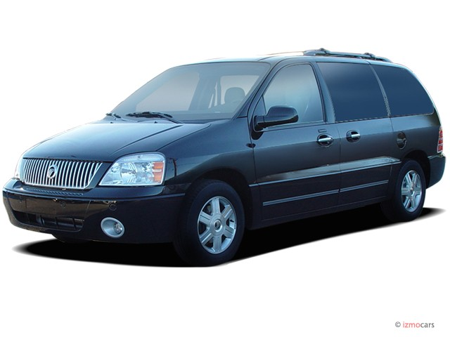 2007 Mercury Monterey 4-door Luxury *Ltd Avail* Angular Front Exterior View