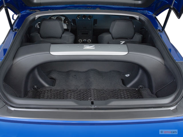 Image 2007 Nissan 350z 2 Door Coupe Manual Trunk Size