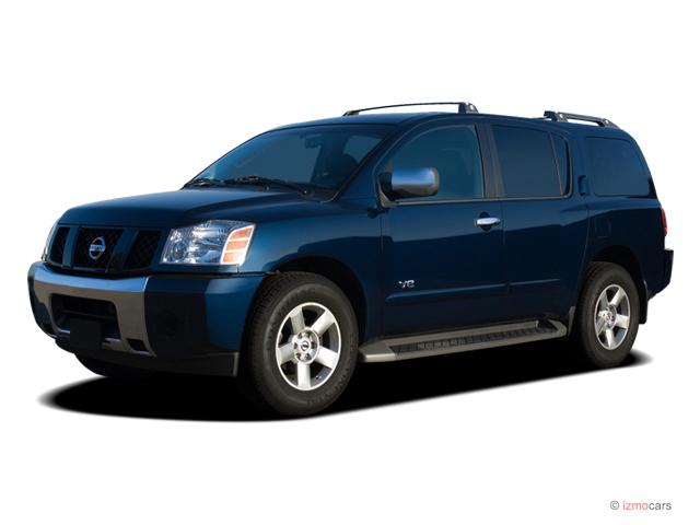 2007 Nissan Armada 2WD 4-door SE Angular Front Exterior View